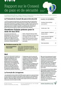 PSC newsletter May_12 draft 2 FRENCH.indd