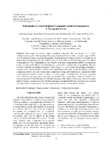 Punicalagins-A Large Polyphenol Compounds Found in ... - IDOSI