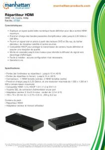 Répartiteur HDMI - Manhattan Products