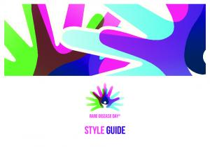 rare disease day style guide