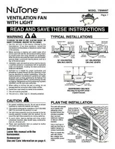 read and save these instructions