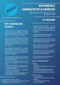 responsable administratif & financier - POP - EU.com