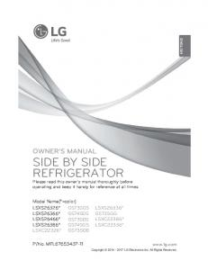 side by side refrigerator - Appliances Connection
