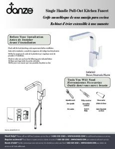 Single Handle Pull-Out Kitchen Faucet