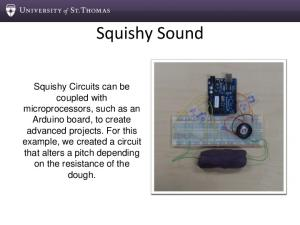 Squishy Sound - University of St. Thomas