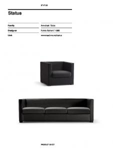Status Sofa by LaCividina | Haute Living