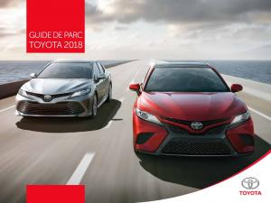 toyota 2018 - Canadian Automotive Fleet
