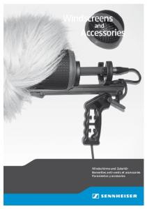 Windscreens Accessories - Sennheiser