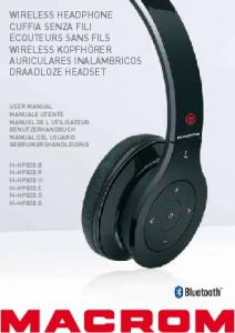 wireless headphone cuffia senza fili écouteurs sans fils ... - Macrom