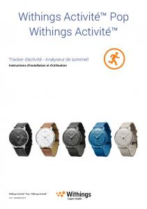 Withings Activité™ Pop Withings Activité™